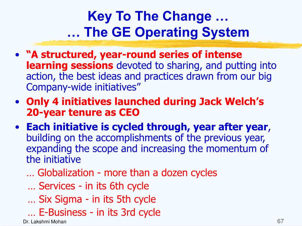 Key To The Change …