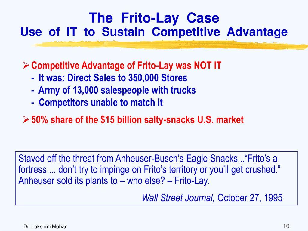 The  Frito-Lay  Case