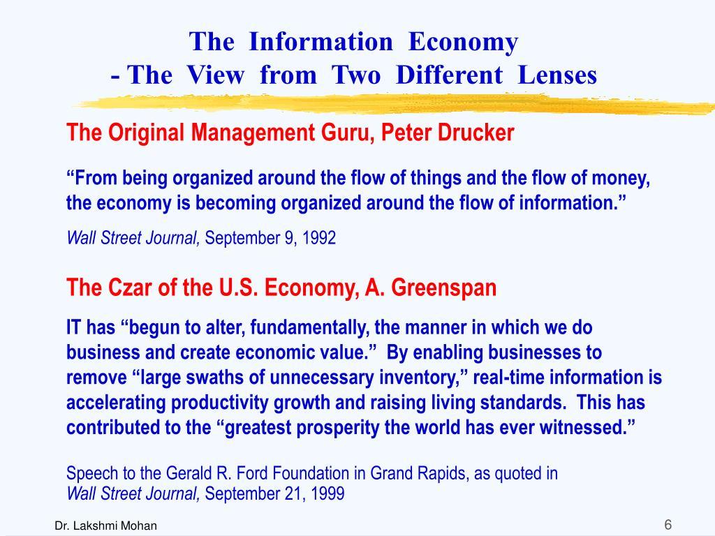 The  Information  Economy