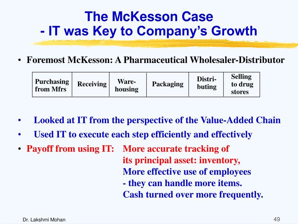 The McKesson Case
