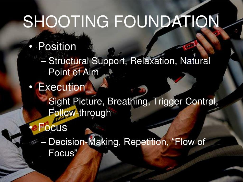 SHOOTING FOUNDATION