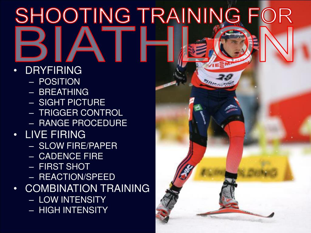 SHOOTING TRAINING FOR