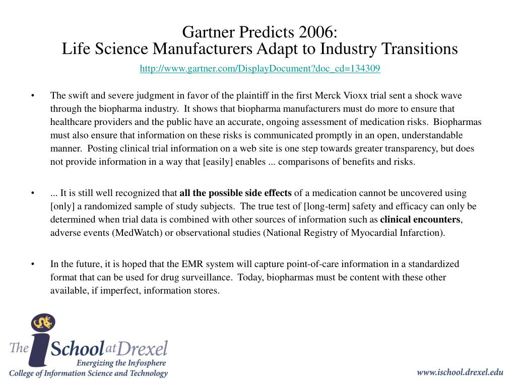 Gartner Predicts 2006:
