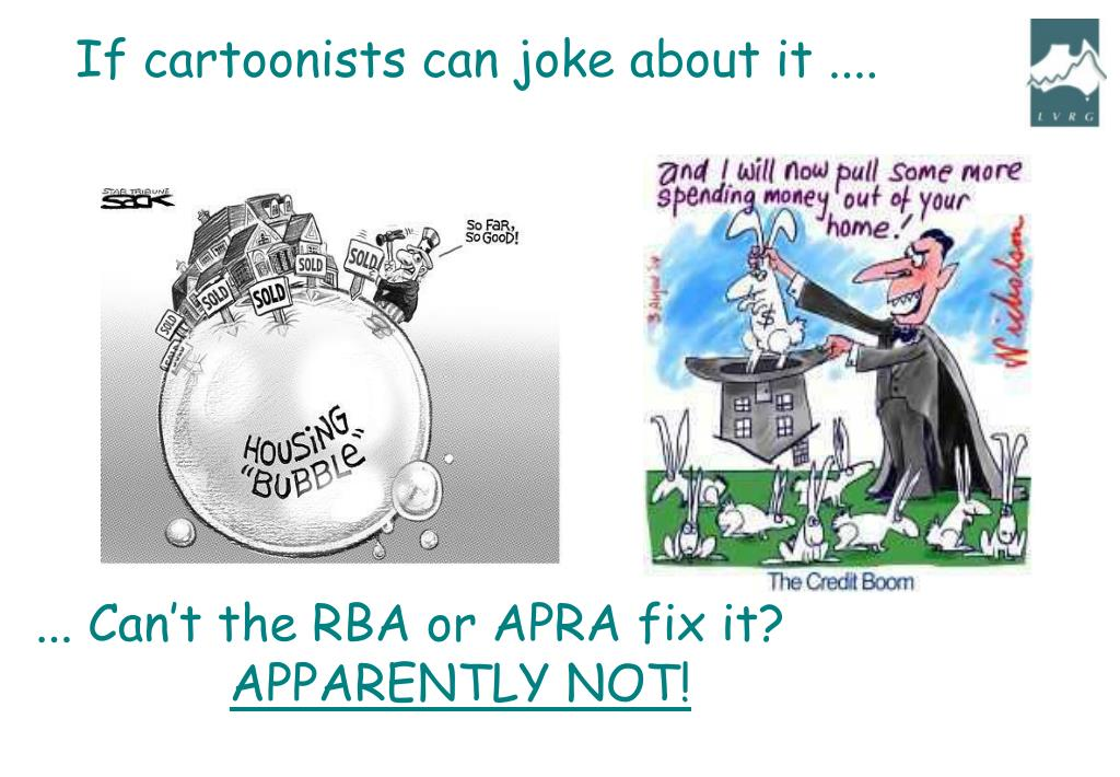 If cartoonists can joke about it ....
