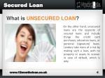 secured loan1