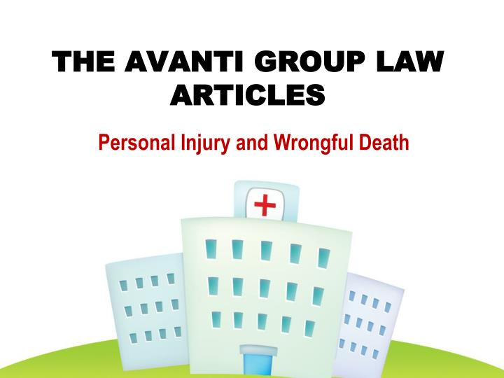 The avanti group law articles