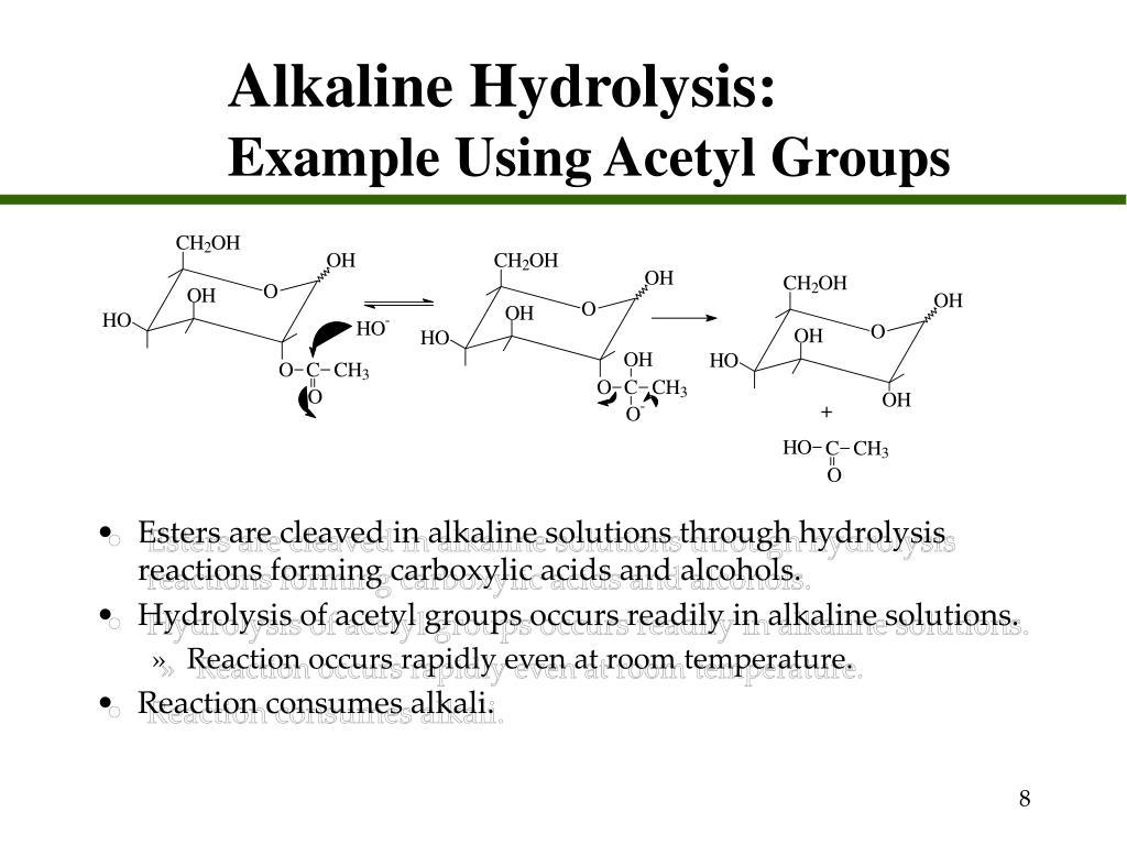 Alkaline Hydrolysis: