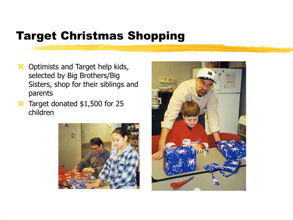 Target Christmas Shopping