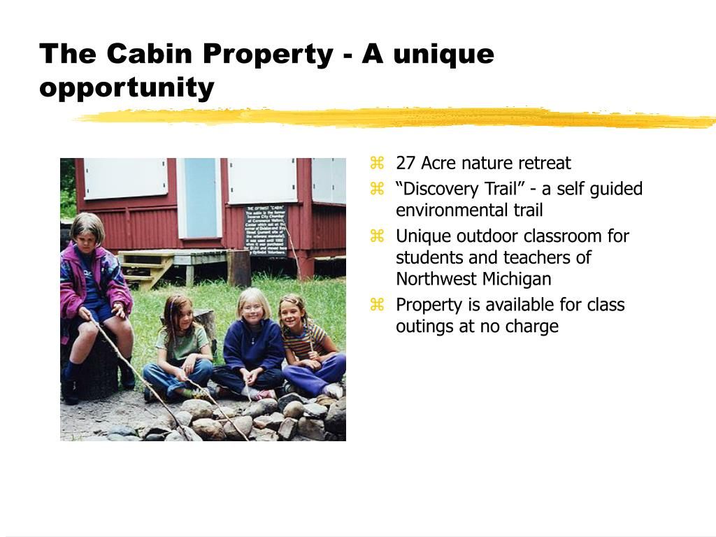 The Cabin Property - A unique opportunity