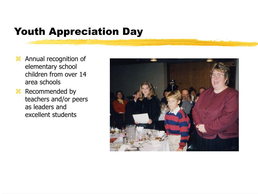 Youth Appreciation Day
