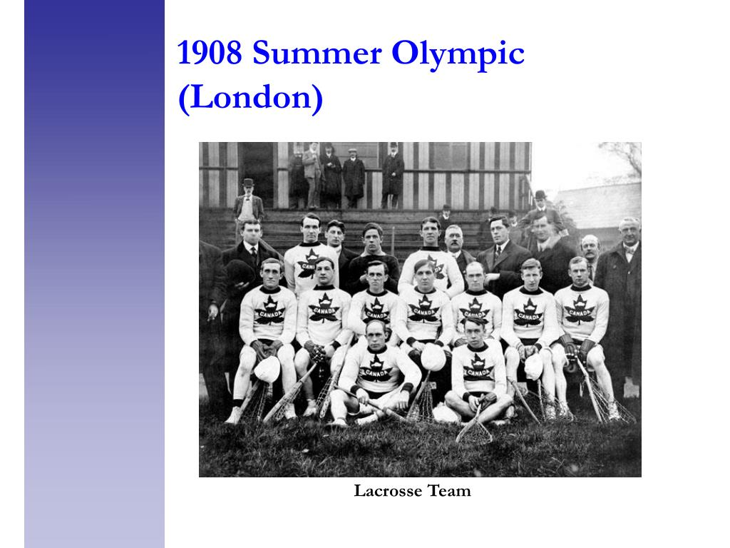 1908 Summer Olympic