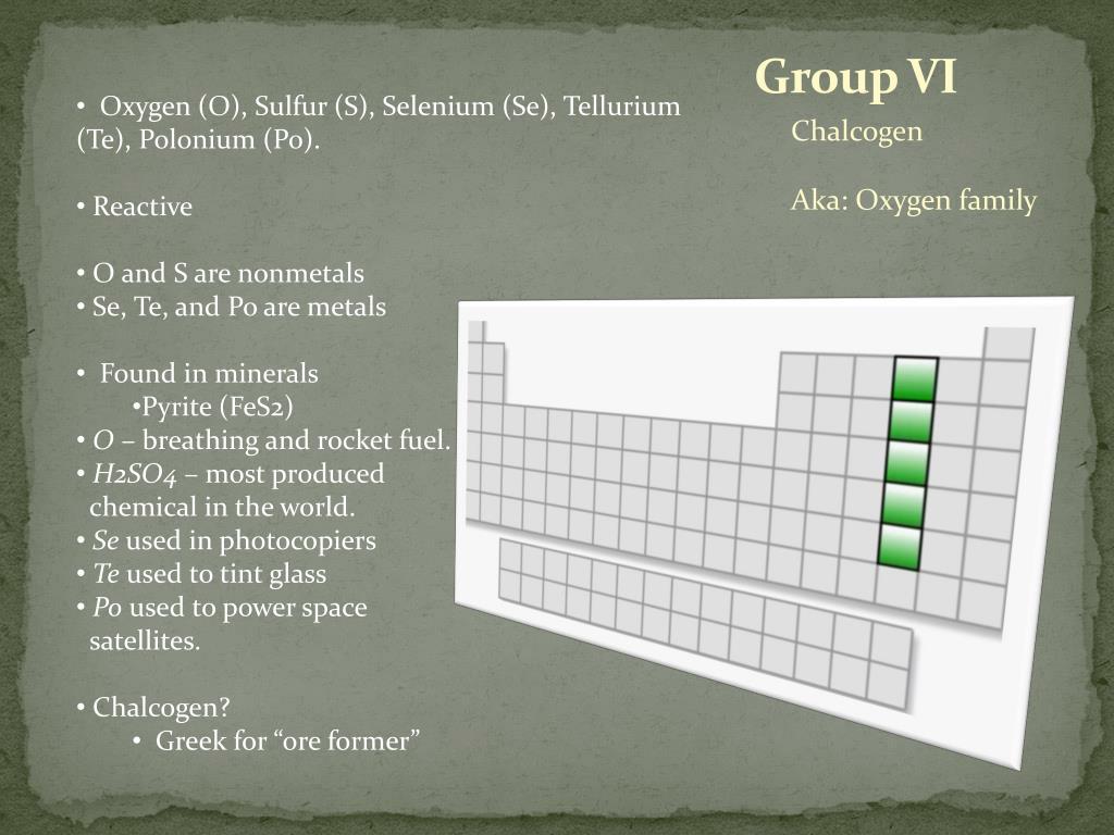 Group VI