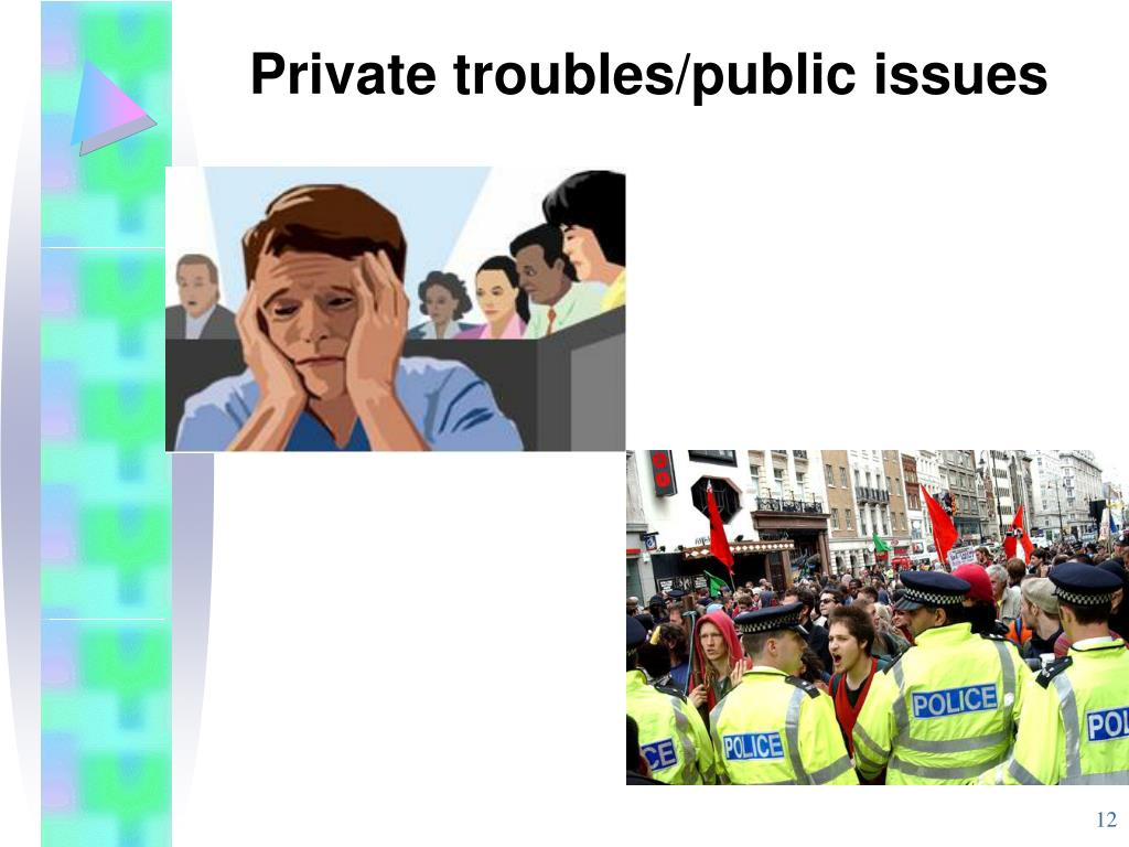 Private troubles/public issues