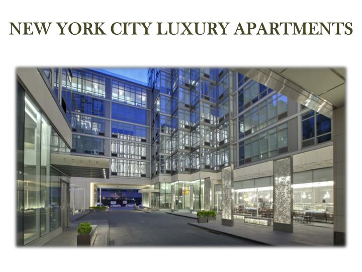 New York City Luxury Apartments