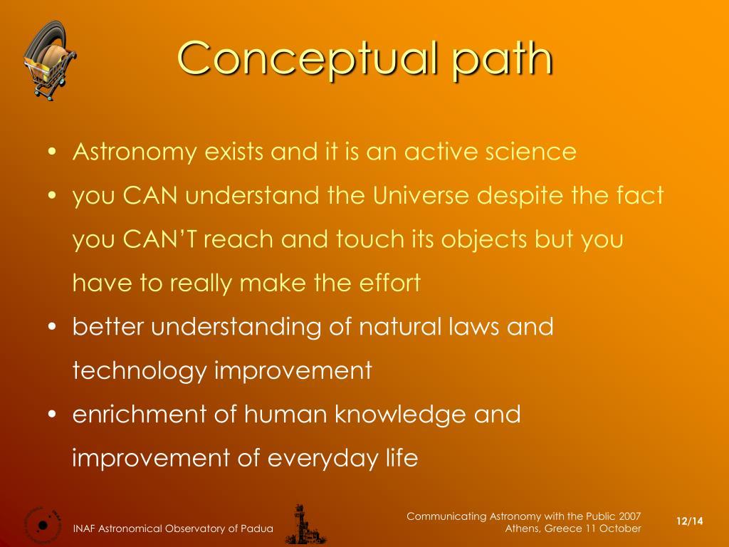 Conceptual path