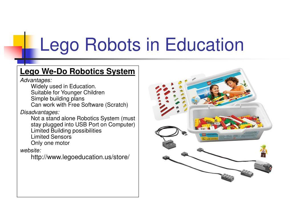 Lego We-Do Robotics System