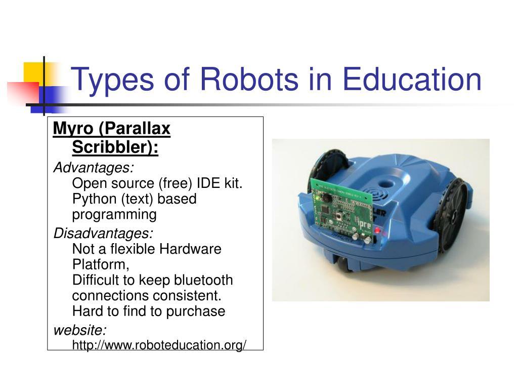 Myro (Parallax Scribbler):