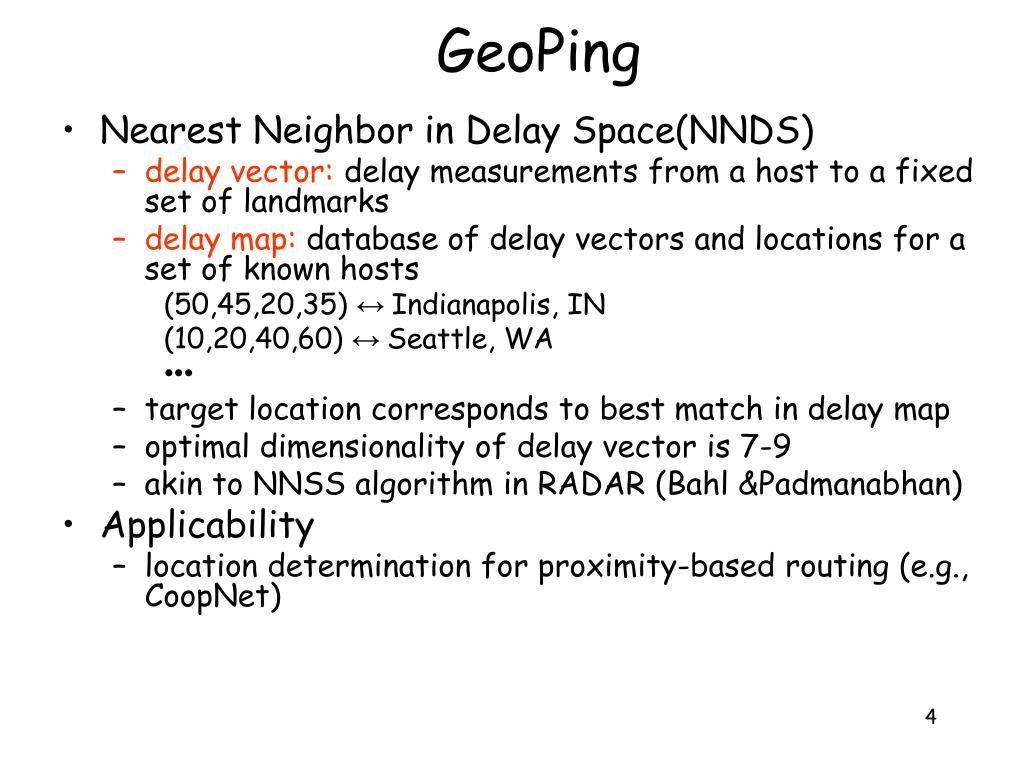GeoPing