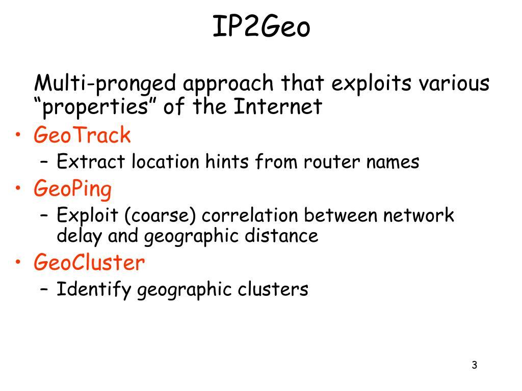 IP2Geo