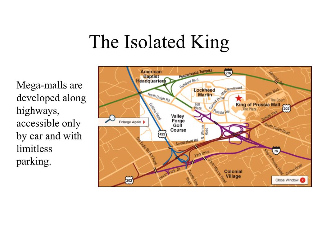 The Isolated King