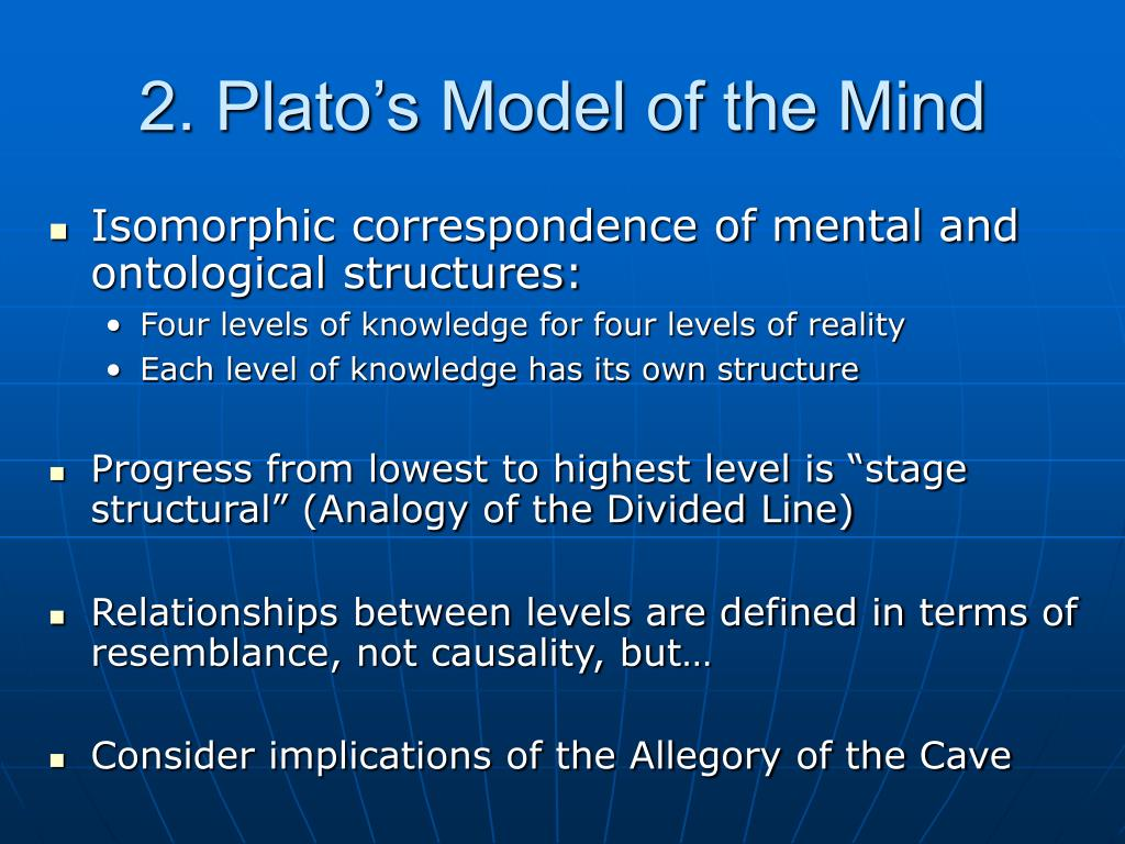 2. Plato's Model of the Mind