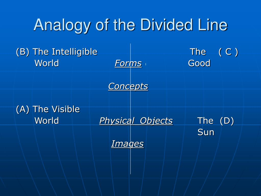 Analogy of the Divided Line