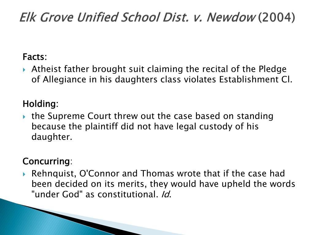 Elk Grove Unified School Dist. v.