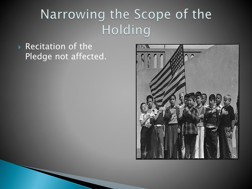 Narrowing the Scope of the Holding