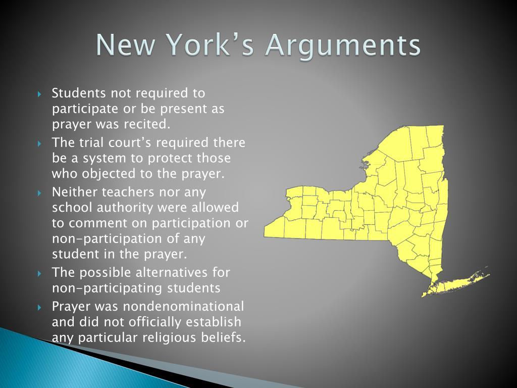 New York's Arguments