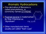 aromatic hydrocarbons43