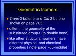 geometric isomers35
