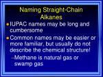 naming straight chain alkanes14