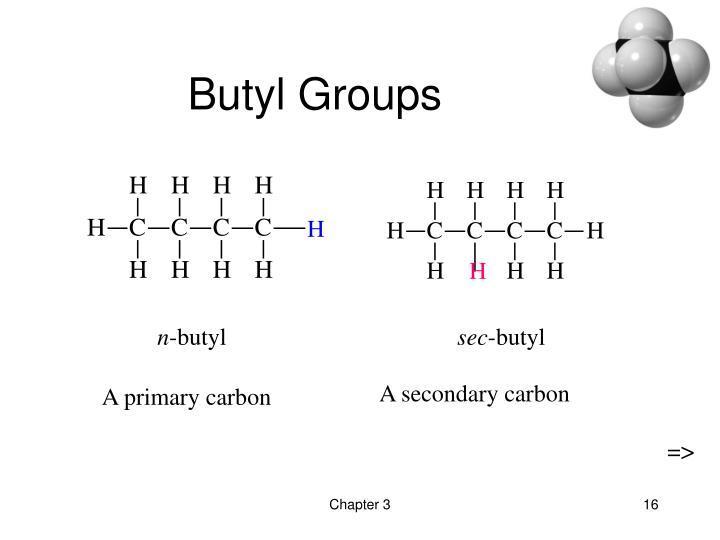 Butyl Groups