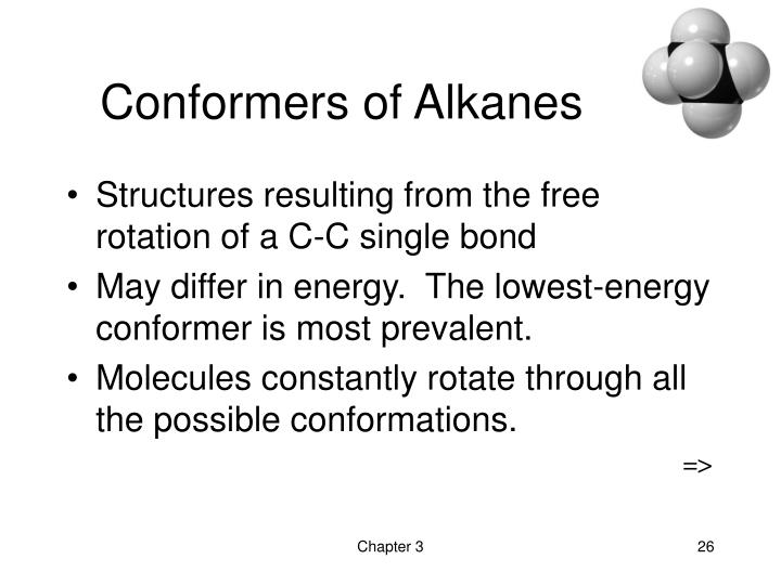 Conformers of Alkanes