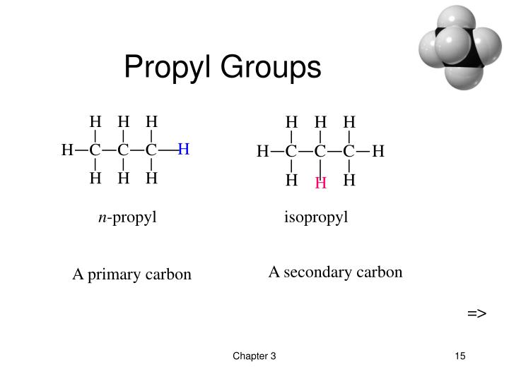 Propyl Groups