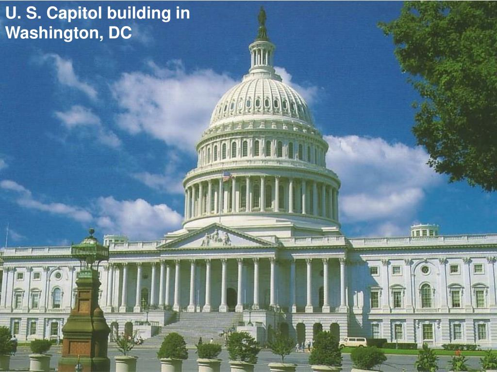 U. S. Capitol building in Washington, DC