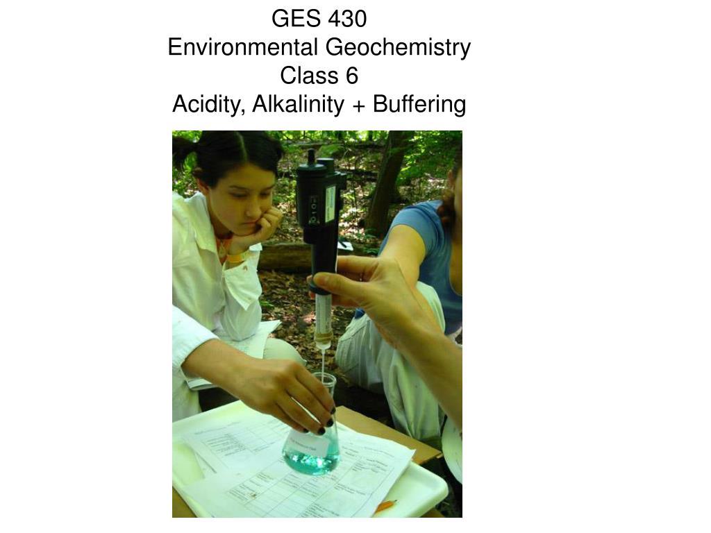 GES 430