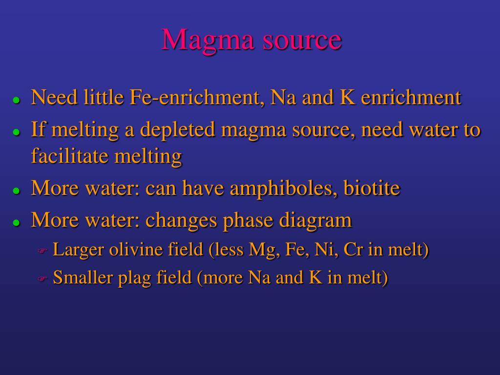 Magma source