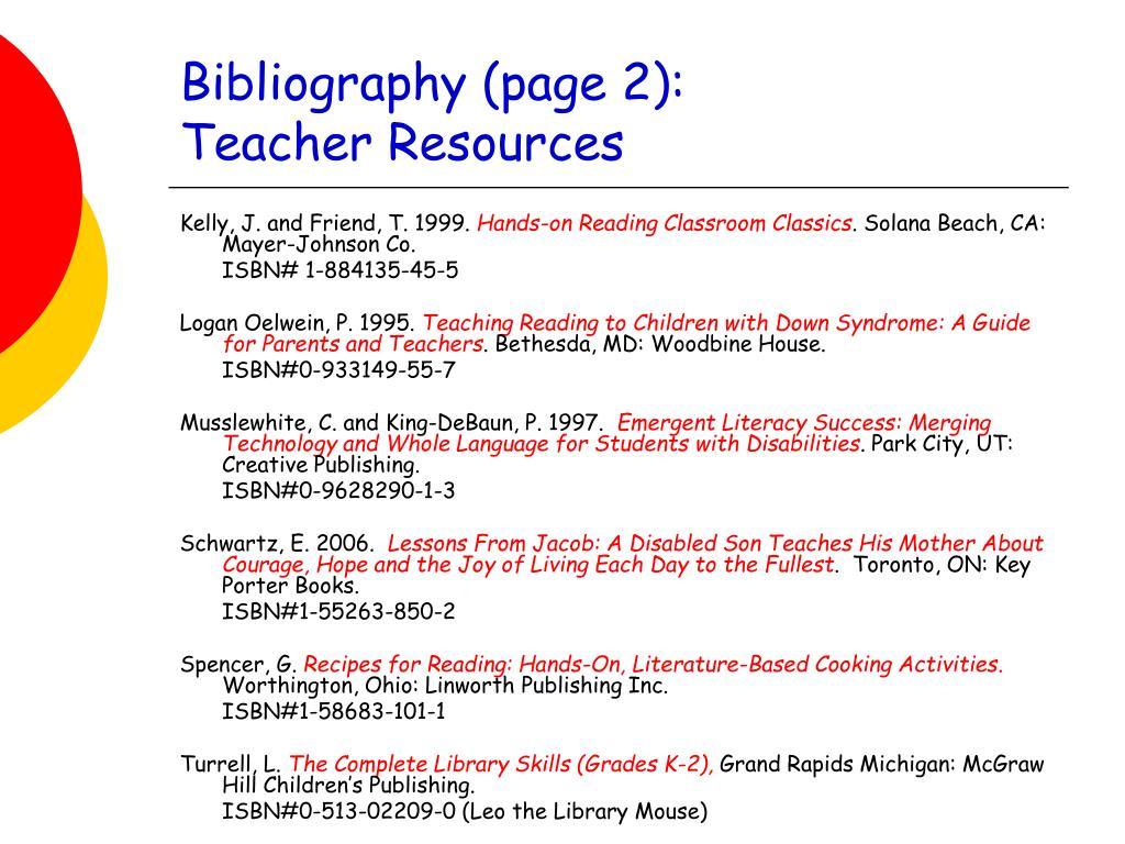 Bibliography (page 2):