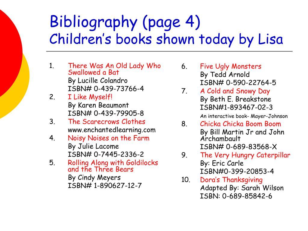 Bibliography (page 4)