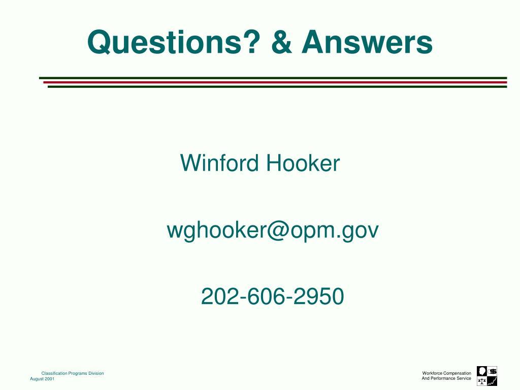Winford Hooker