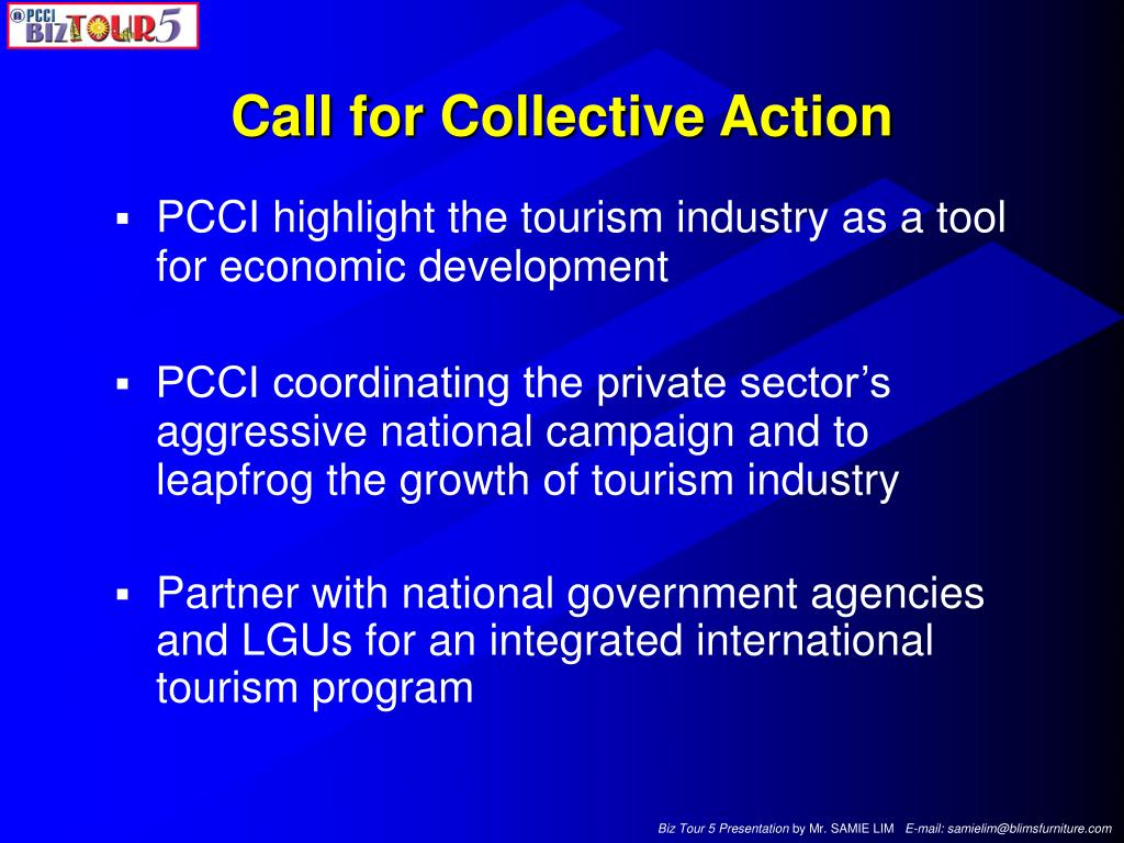 Call for Collective Action