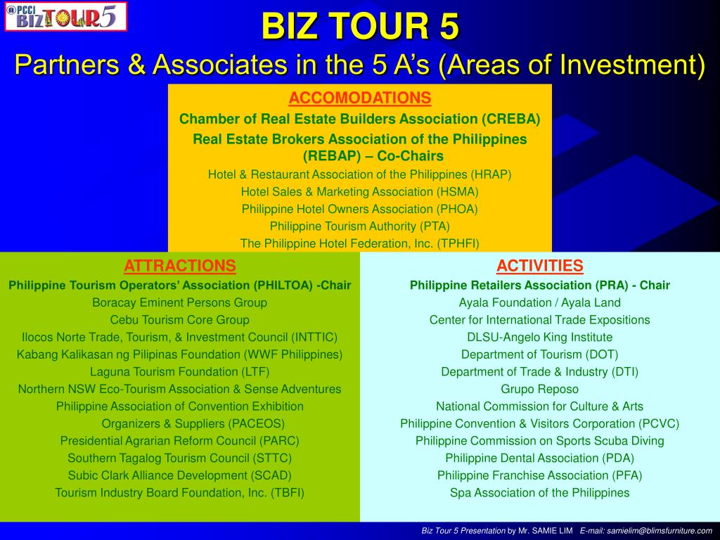 BIZ TOUR 5