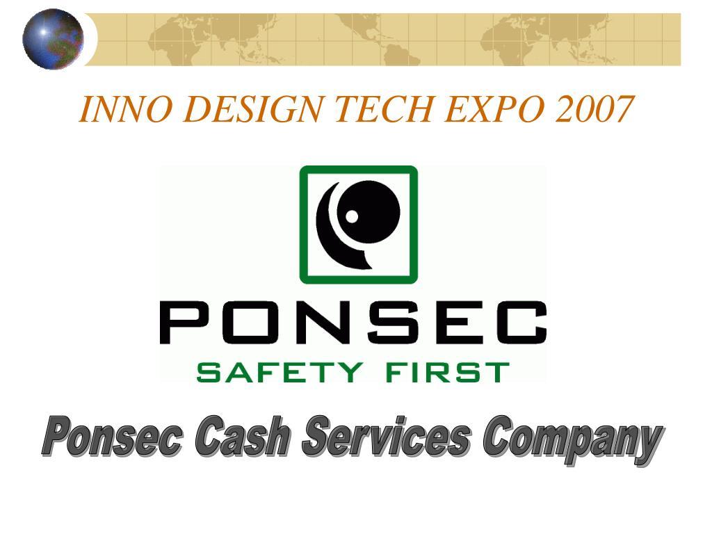 INNO DESIGN TECH EXPO 2007