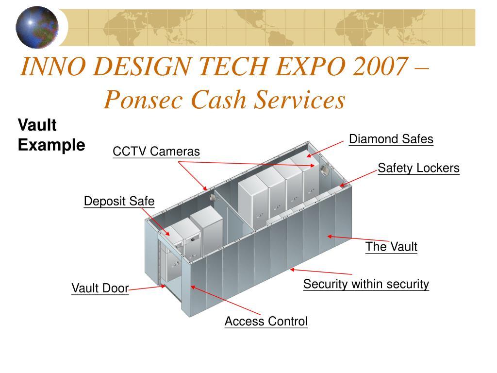 INNO DESIGN TECH EXPO 2007 – Ponsec Cash Services