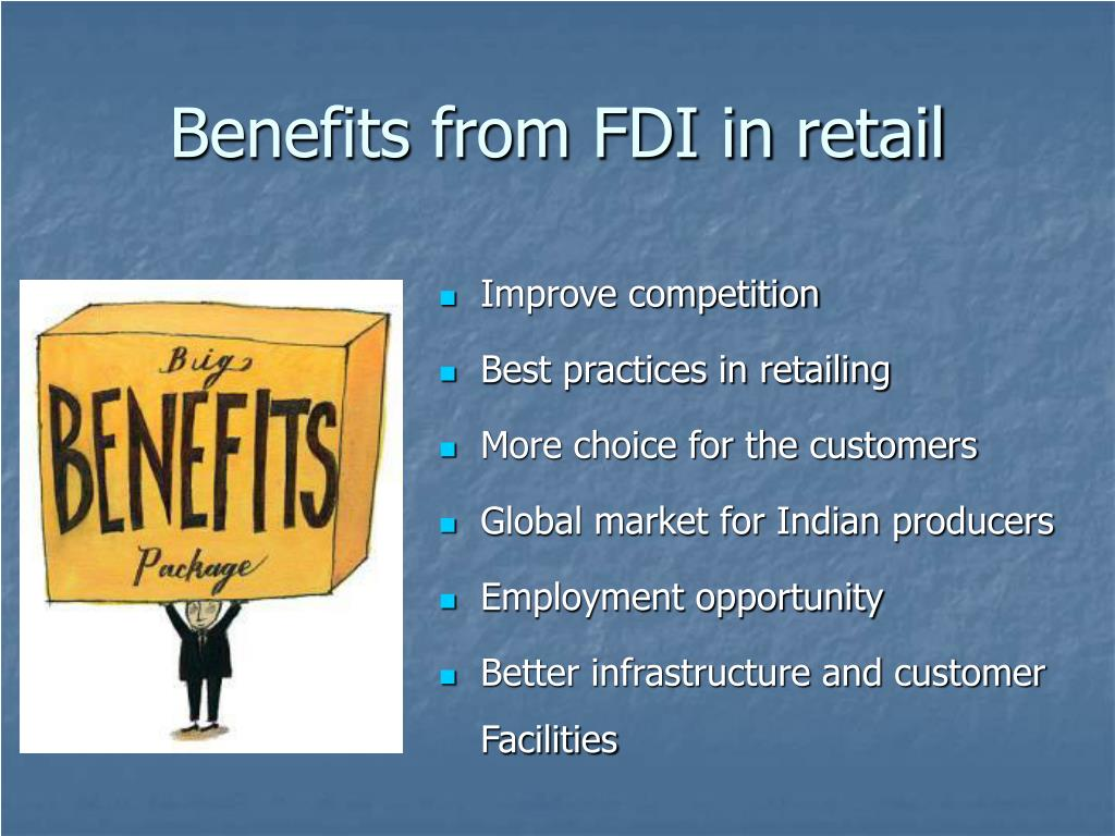 Benefits from FDI in retail