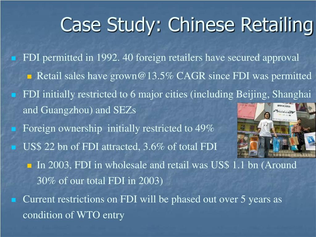 Case Study: Chinese Retailing