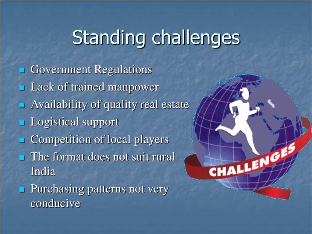 Standing challenges