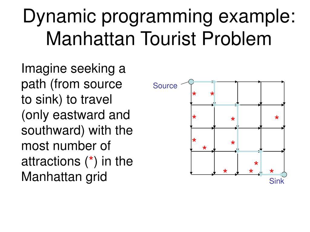 Dynamic programming example: