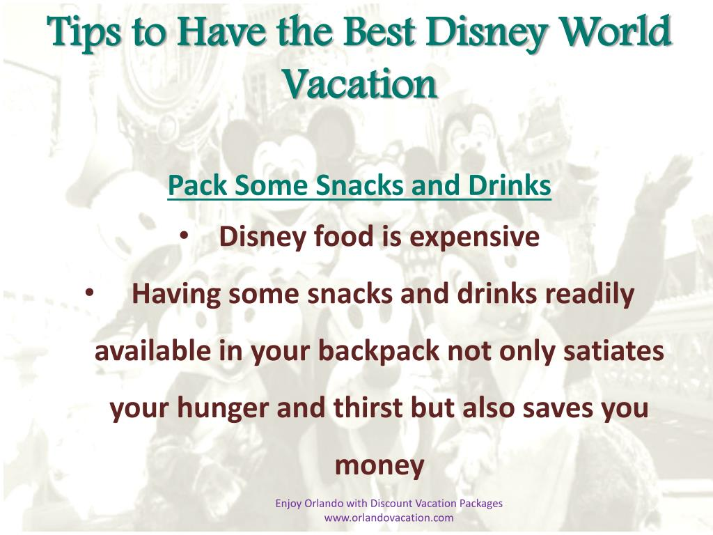 Tips to Have the Best Disney